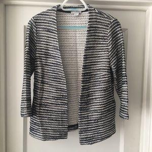 H&M Cotton Blend Tweed Blazer